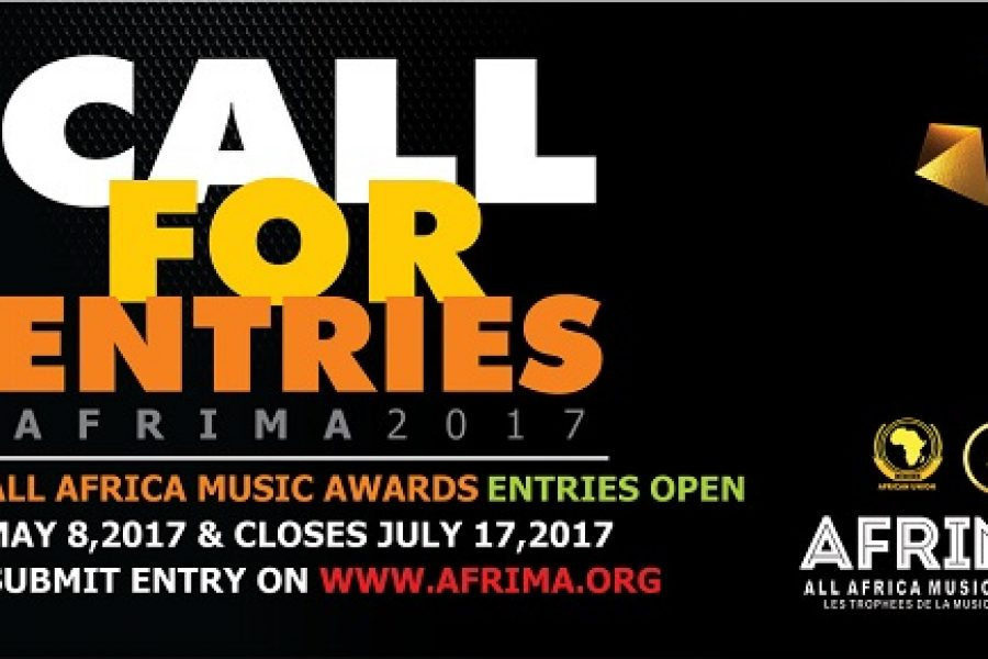 AFRIMA 2017 Call For Entry.